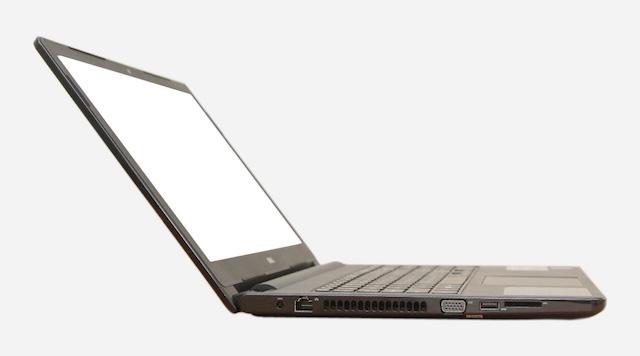 Dell Inspiron 3558 i3 5005U - 2 cạnh bên