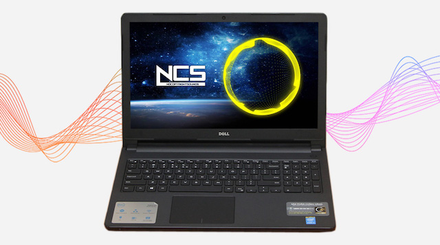 Dell Inspiron 3558 i3 5005U - Hai loa được thiết kế bên dưới máy