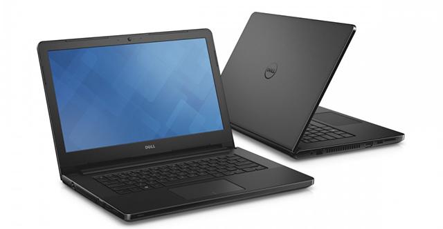 Thiết kế theo phong cách quen thuộc của Dell
