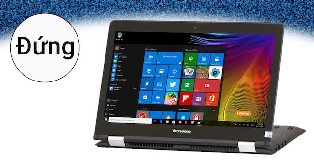 Lenovo Yoga 500 i5 6200U - Biến hình máy tùy theo nhu cầu sử dụng