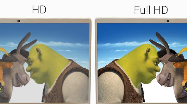 Lenovo IdeaPad 710S 13ISK - Màn hình sắc nét với độ phân giải Full HD