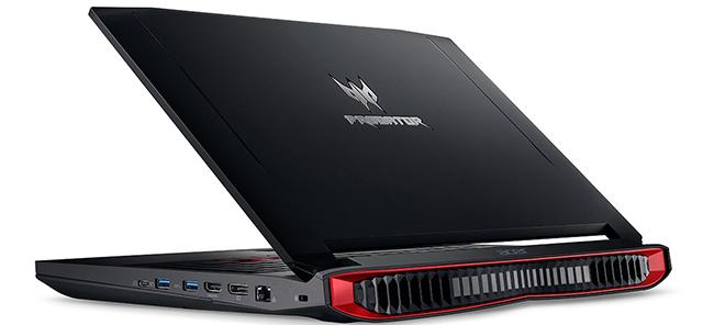 Acer Predator G9 592 74QG mạnh mẽ và góc cạnh