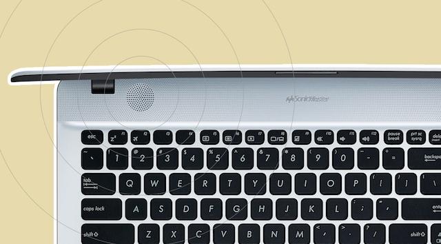 Asus A541UV i7 6500U - Dàn loa cho âm thanh rõ nét đến từng chi tiết