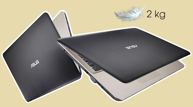 Asus A541UV i7 6500U - Thiết kế cực gọn nhẹ chỉ 2 kg