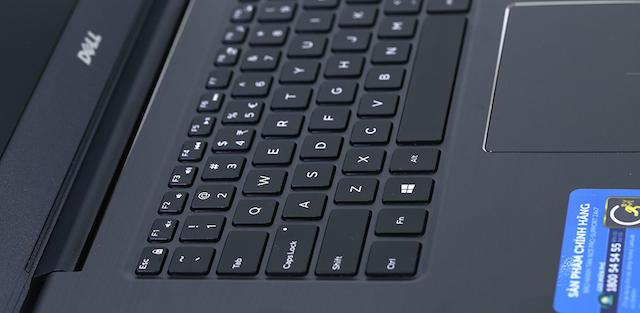 Dell Vostro 5468 i5 7200U - Bàn phím dễ ấn hơn