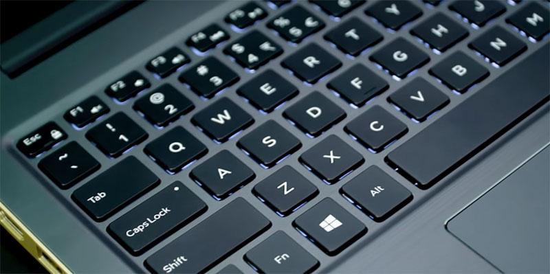 Đèn nền bàn phím trên Laptop Dell Vostro 5568