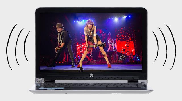 HP Pavilion x360 u107TU i5 7200U - Nghe nhạc cực đỉnh với công nghệ âm thanh B&O Play
