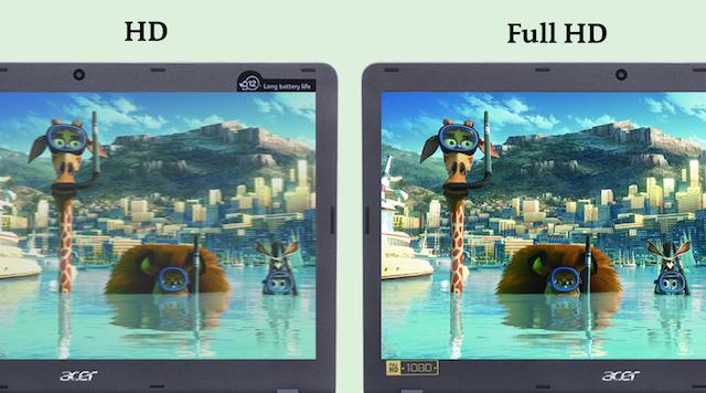 Acer Aspire F5 573G 55HV i5 - Màn hình Full HD cho hình ảnh sắc nét hơn