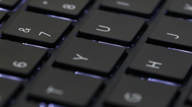 HP Probook 450 G4 i5 - Đèn nền phím giúp thao tác tốt hơn khi sử dụng máy trong phòng tối
