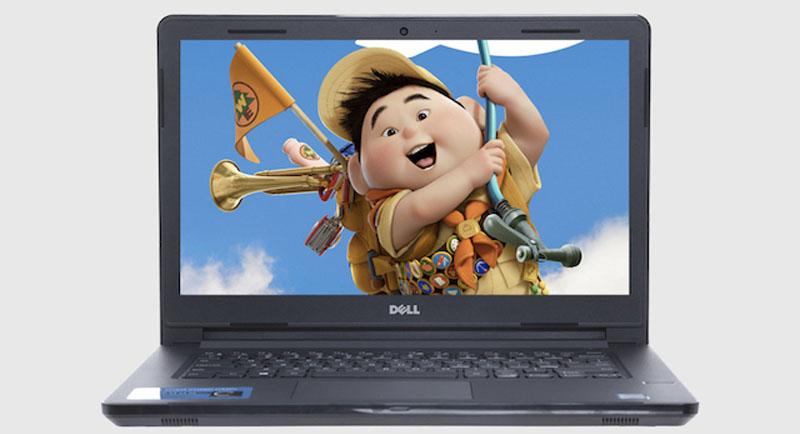 Màn hình tươi sáng, sắc nét trên Laptop Dell Vostro 3468 i5 7200U
