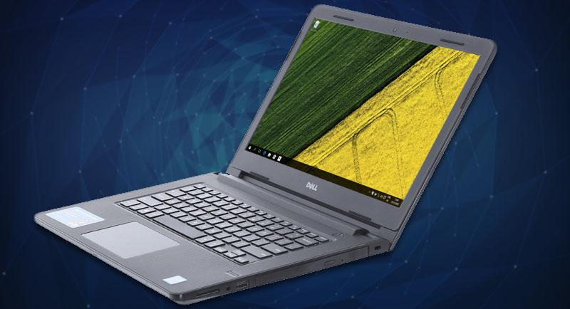 Thiết kết đơn giản, mạnh mẽ trên Laptop Dell Vostro 3468