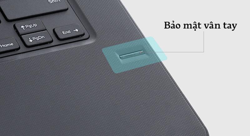 Bảo mật vân tay trên Laptop Dell Vostro 3468 i5 7200U