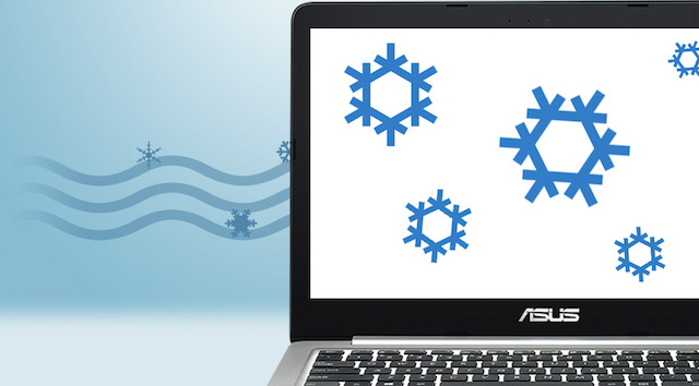 Asus K401UB i5 6200U - Tính năng Ice Cool