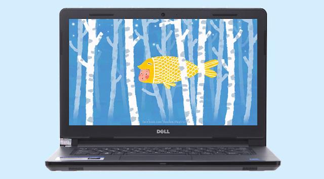 Dell Inspiron 3462 N4200 - Màn hình rộng 14 inch
