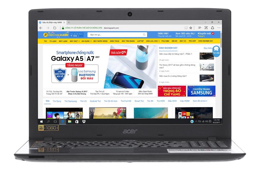 Acer Aspire E5 575G 53EC