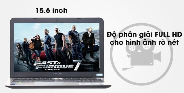 Kích thước màn hình lớn