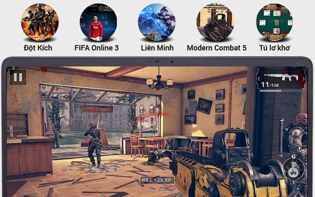 Trải nghiệm thực tế với game Moderm Combat 5