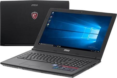 Laptop MSI GL62M 7RDX i5 7300HQ/8GB/1TB/2GB GTX1050/Win10