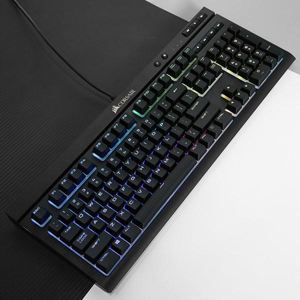 Bàn Phím Cơ Có Dây Gaming Corsair K68 RGB Mechanical Đen