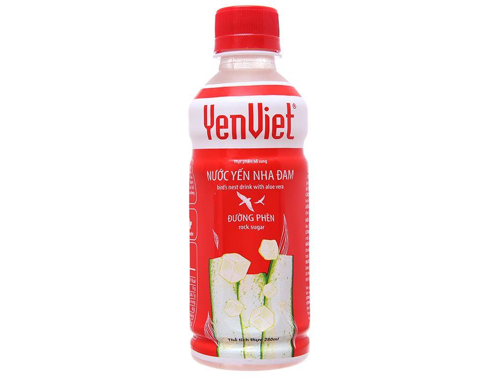 Thùng 24 chai nước yến Yến Việt nha đam 280ml 2