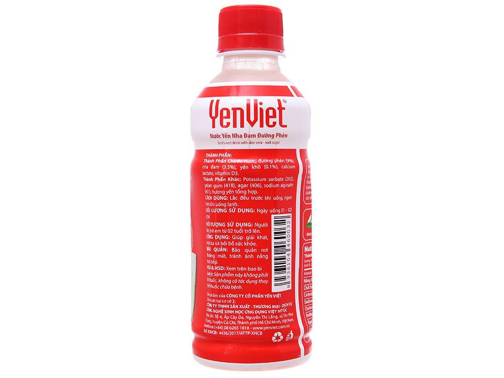 Thùng 24 chai nước yến Yến Việt nha đam 280ml 3