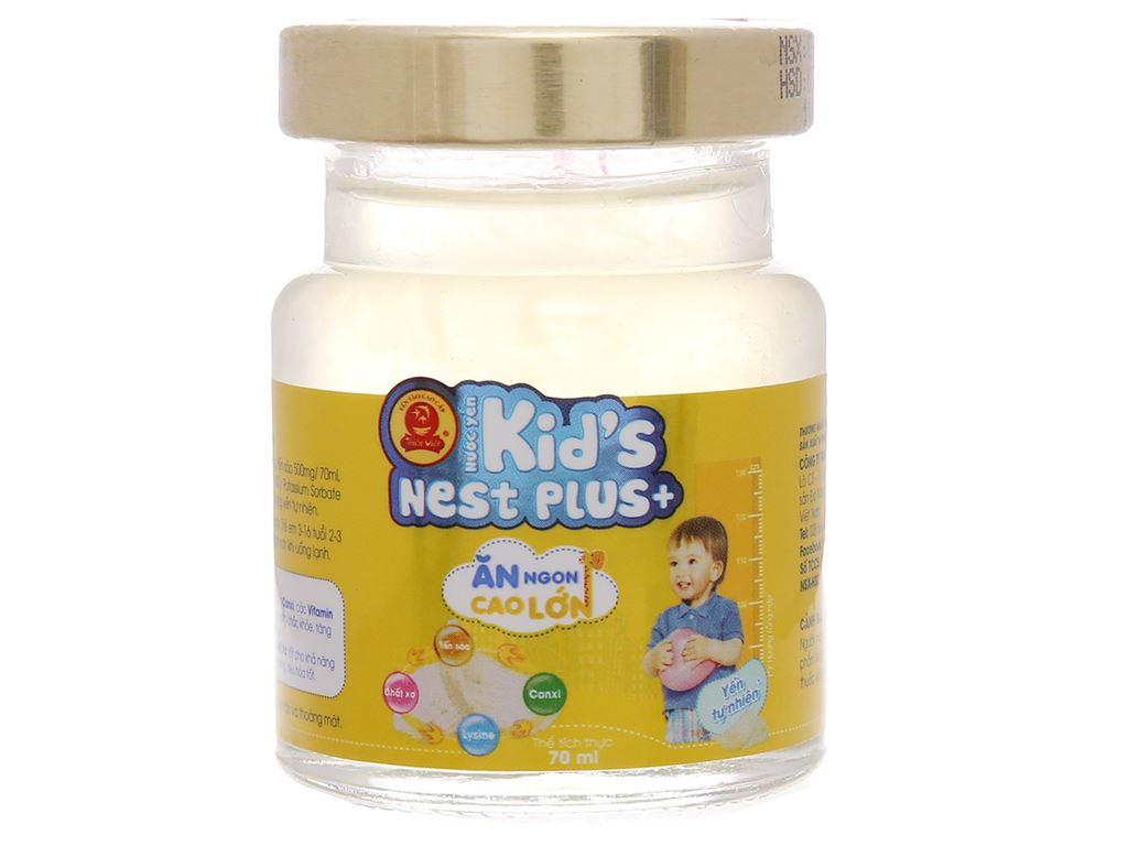 Nước yến cho bé Thiên Việt Kids Nest Plus+ vị yến tự nhiên 70ml 1