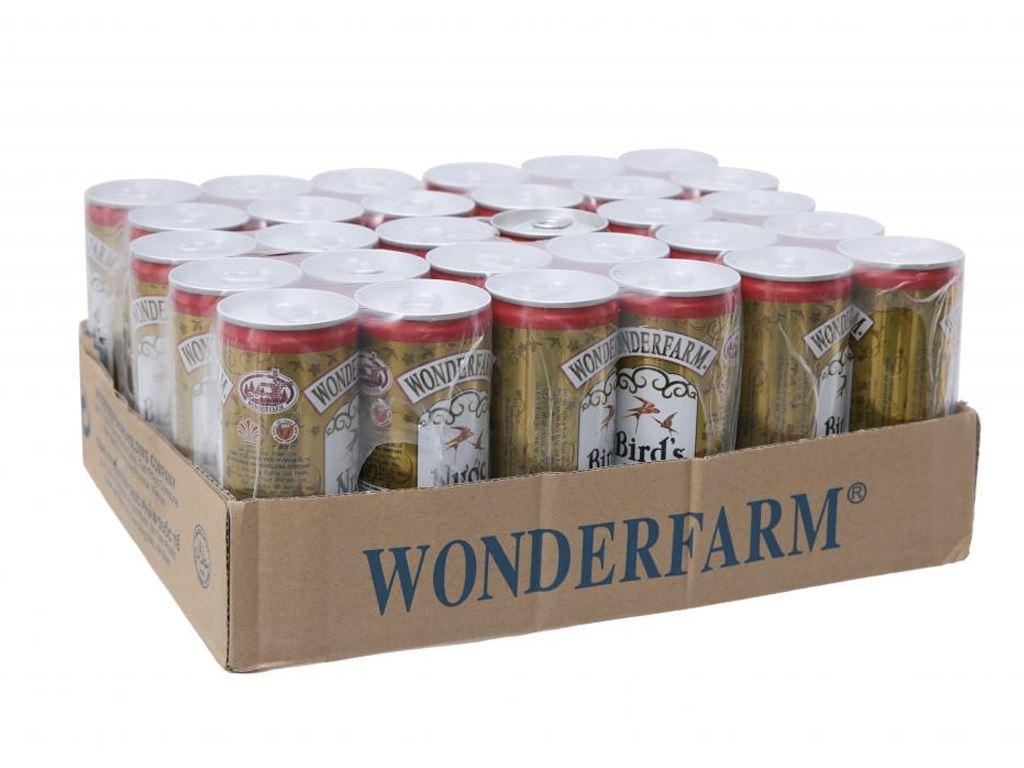 Thùng 30 lon nước yến ngân nhĩ Wonderfarm 240ml 1
