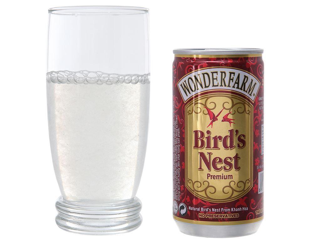 Hộp 6 lon nước yến Wonderfarm cao cấp 180ml 4