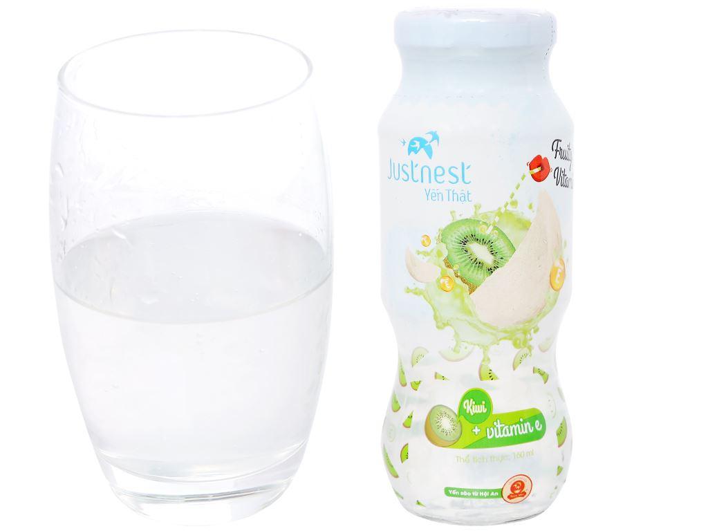 Nước yến thiên nhiên Justnest hương kiwi 160ml 4