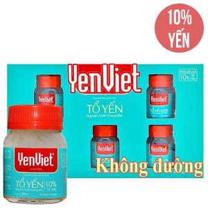 Hộp 5 hũ tổ yến chưng sẵn Yến Việt không đường 65ml