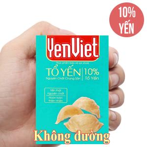 Tổ yến nguyên chất chưng sẵn Yến Việt không đường 65ml