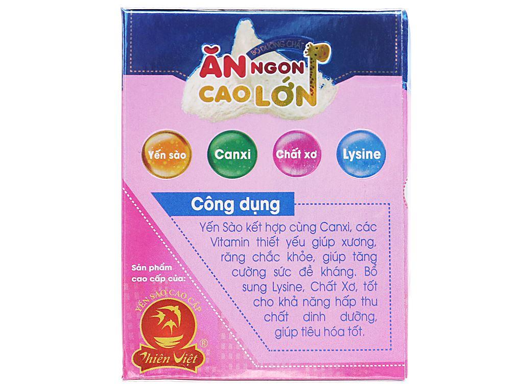 Nước yến cho bé Thiên Việt Kids Nest Plus+ hương dâu 70ml 3