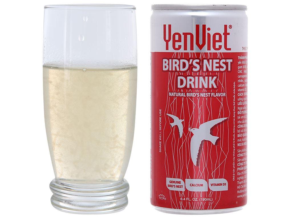 Hộp 6 lon nước yến ngân nhĩ Yến Việt 190ml 4