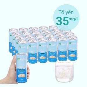 Thùng 24 lon nước yến ngân nhĩ Vinatur vị gừng 240ml