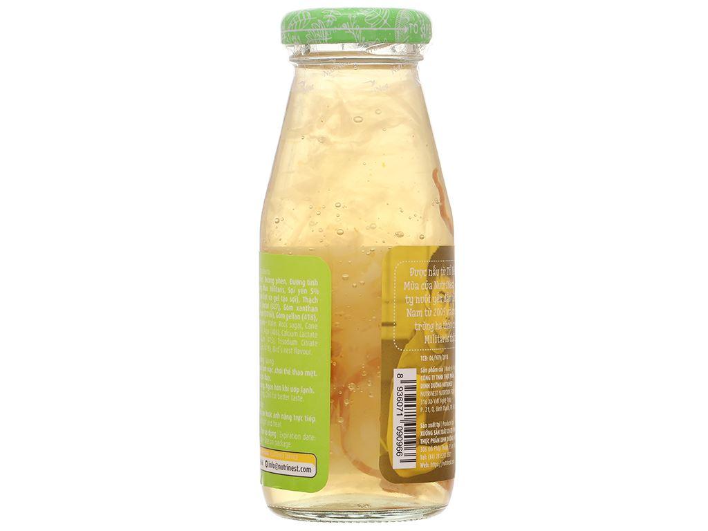 Thùng 48 chai nước yến sào đông trùng hạ thảo Green Bird 185ml 10