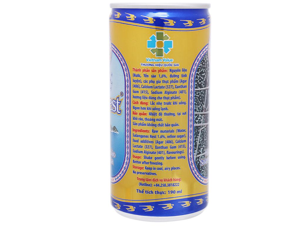 Thùng 30 lon nước yến sào Khánh Hòa 190ml 4