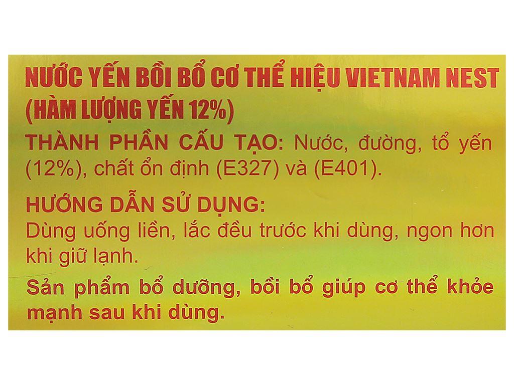 Hộp 6 hũ tổ yến chưng sẵn Sài Gòn Anpha 70ml 10