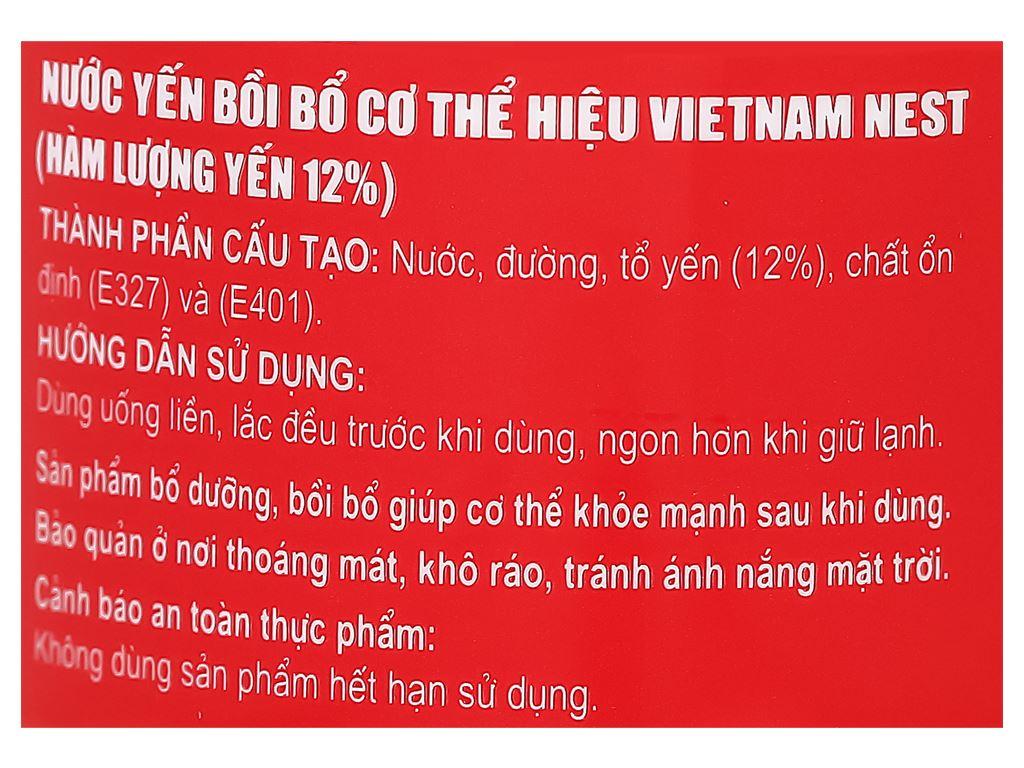 Hộp 6 hũ tổ yến chưng sẵn Sài Gòn Anpha 70ml 11