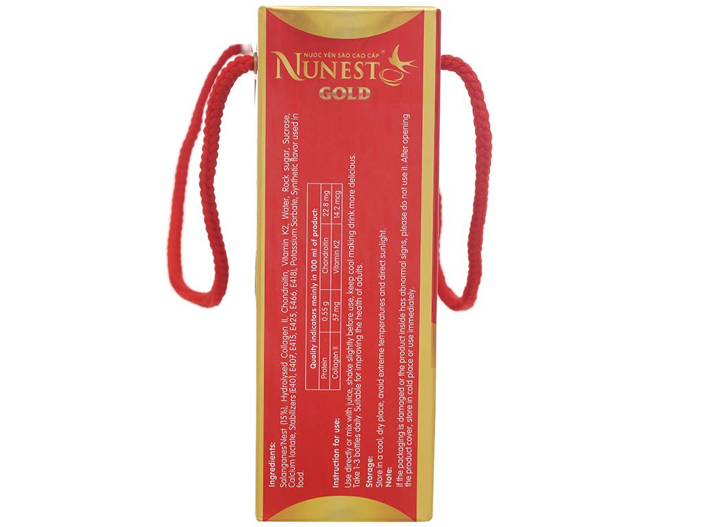 Lốc 6 lon nước yến sào Nunest có đường 420ml 5
