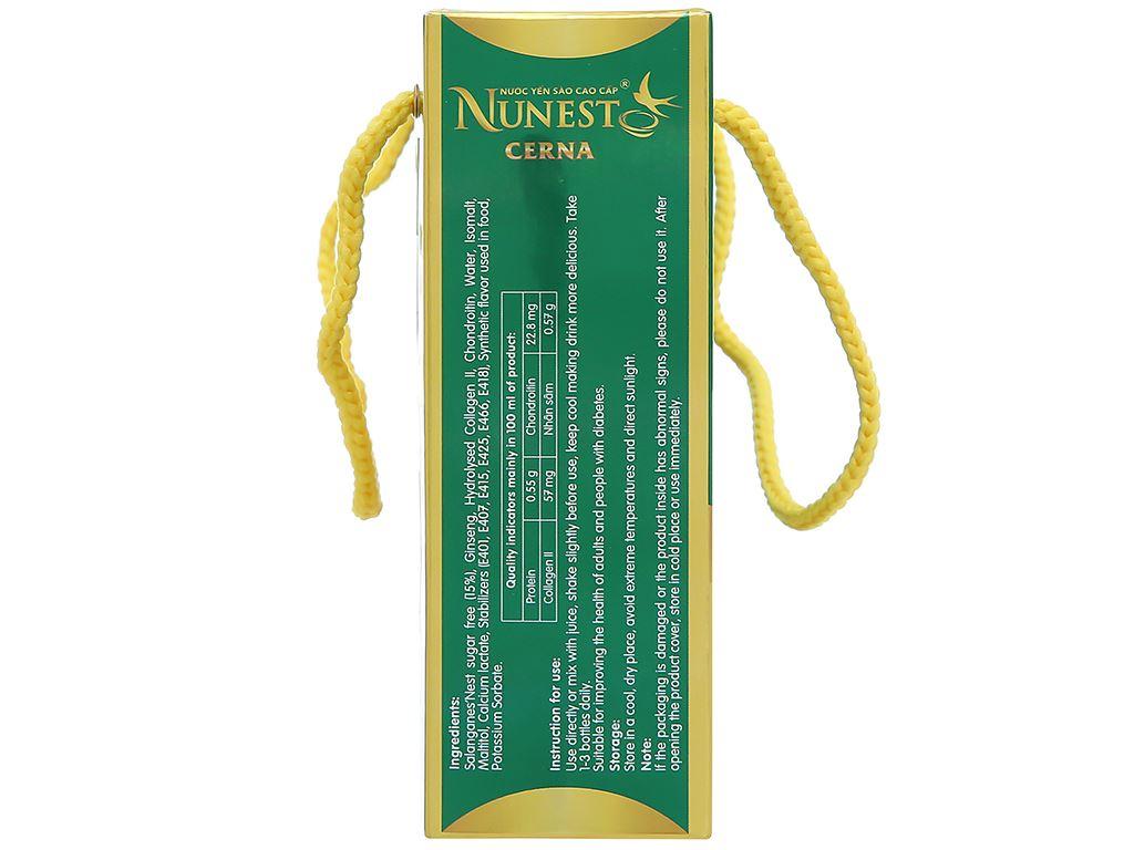 Lốc 6 hũ nước yến sào Nunest Cerna 420ml 4