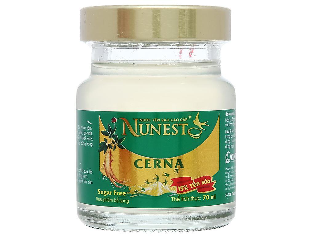 Lốc 6 hũ nước yến sào Nunest Cerna 420ml 7