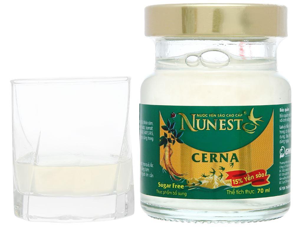 Hộp 6 hũ nước yến sào Nunest Cerna 420ml 9