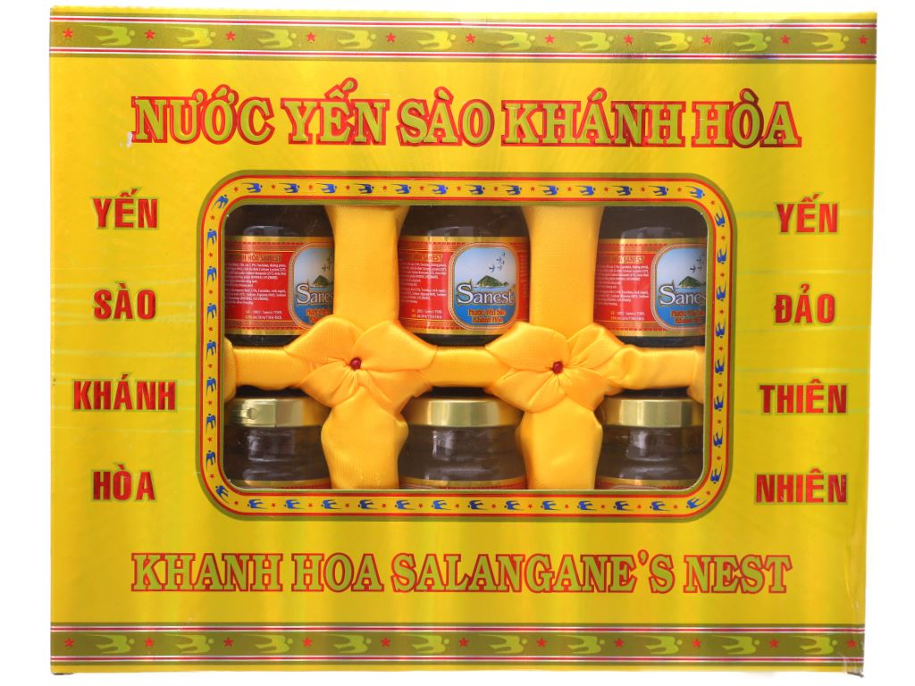 Hộp 6 hũ nước yến sào Khánh Hòa 70ml 2