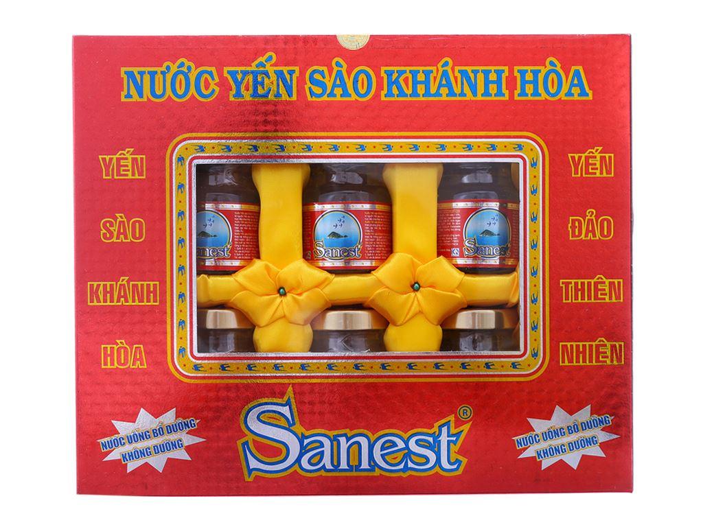 Hộp 6 hũ nước Yến sào Khánh Hòa không đường 70ml 1