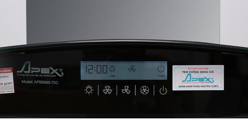 Máy hút mùi Apex APB6680-70C
