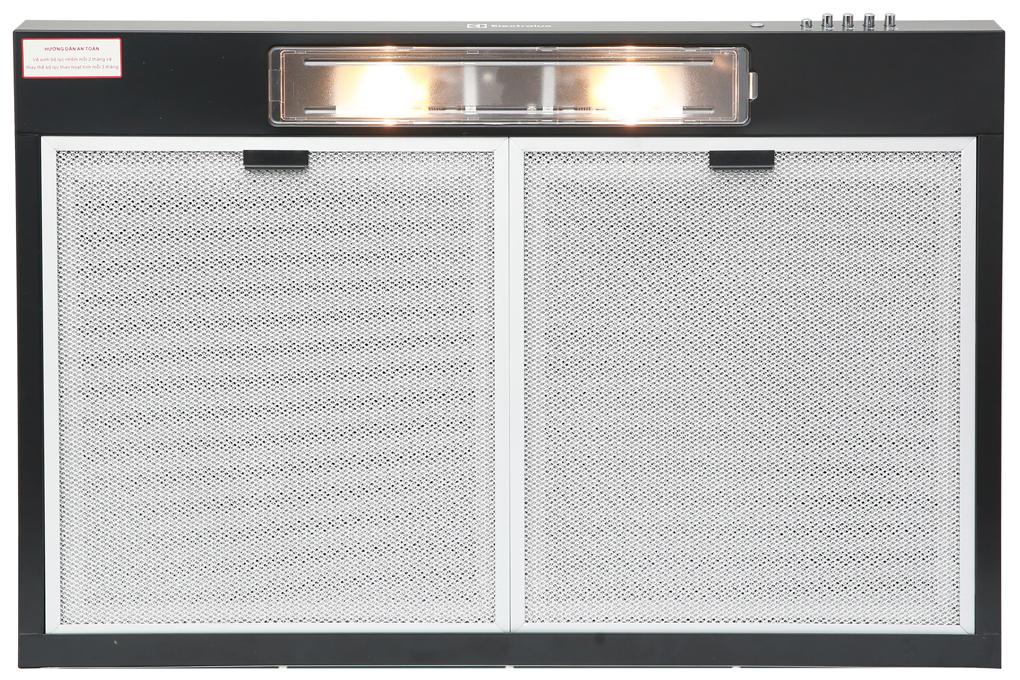 Đèn chiếu sáng 2 bóng x 25 W - Máy hút mùi Electrolux EFT7516K