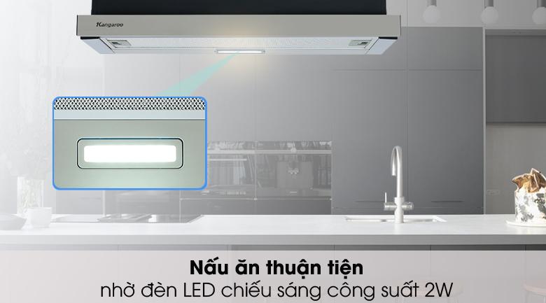 Đèn chiếu sáng - Máy hút mùi Kangaroo KG70BH1