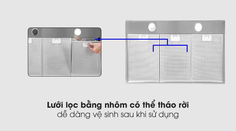 lưới lọc Máy hút mùi áp tường Electrolux LFT769X