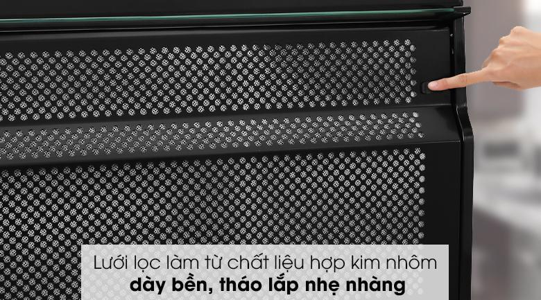 Máy hút mùi âm tủ Jenair 301-2M70BL - Lưới lọc làm từ chất liệu hợp kim nhôm dày bền, tháo lắp nhẹ nhàng
