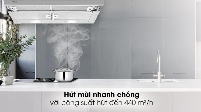 Máy hút mùi âm tủ Hafele HH-S70A - Công suất hút 440 m³/h